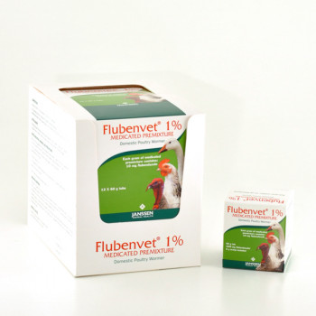 Flubenvet 1% Medicated Premixture Domestic Poultry Wormer
